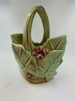 Vintage McCOY ART pottery LEAF & BERRY pattern EXC MO339 Mint condition 1954