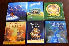 Set of 6 All HB Popular Classic Religious Holiday Christmas Books Littlest Angel