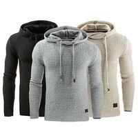 Winter Men Hoodie Warm Hooded Sweatshirt Coat Jacket Outwear Jumper Sweater Tops