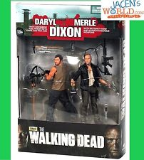 Merle and Daryl Dixon Action Figure Crossbow McFarlane The Walking Dead Set