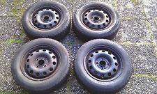 Michelin Alpin Winterreifen 185/65R14T auf Stahlfelgen Felge für Ford Seat VW