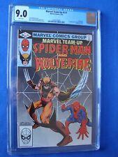 Marvel Team-Up #117 CGC 9.0 WP 2024570008 One Owner New Slab