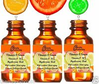 *30% DOUBLE Strength Vitamin C Serum w PURE Hyaluronic Acid! UPGRADE 2.2oz