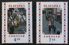 Europa, National festivals stamps, 1998, Faroe Islands, SG ref: 346 & 347, MNH