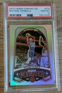Matisse Thybulle 2019 Chronicles Marquee #270 RC Rookie PSA 10 Gem Mint