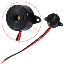 3V-24V 10mA Black Piezo Electronic Tone Buzzer Alarm Alert Continuous Sound New