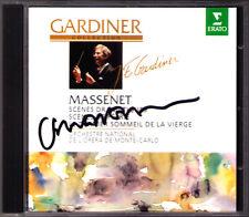 John Eliot GARDINER Signiert MASSENET Suite Orchestra 3 6 LE dernier sommeil CD