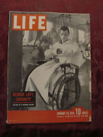 LIFE Magazine January 29 1945 WWII Wounded Thomas Beecham Jane Russell