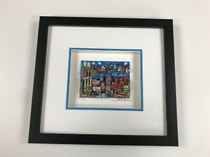 """Charles Fazzino 3D Artwork """" A Bridge To Brooklyn """" Signed & Numbered New York"""