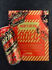 Mountain Dew Flamin Hot Limited Edition Mtn Dew 1 can IN HAND