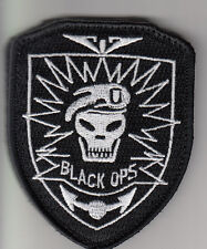PARCHE CALL OF DUTY BLACK OPS  VEL atras  PATCH