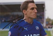 CHESTERFIELD: GEORG MARGREITTER SIGNED 6x4 ACTION PHOTO+COA