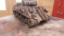 heng long 1/16 sherman   m4a3 rc model tank custom painted