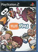 PS2 - EyeToy: Play (Sony PlayStation 2)  - COMPLETE