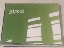 KEANE *THE VIDEOS 2004 PROMO DVD EXCLUSIVE ONLY FANCLUB & SPECIAL PLASTIC SLEEVE