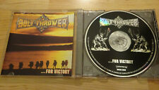 BOLT THROWER FOR VICTORY ORG CD 1994! OBITUARY ENTOMBED MORBID ANGEL CARCASS LP