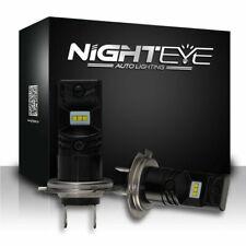 NIGHTEYE H7 1600LM LED Fog Light Bulbs Car Driving Lamp DRL Set 6500K Cool White