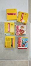 Lot of 7 Super 8mm Films home movies - unviewed