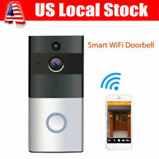 Smart Wireless Ring DoorBell WiFi Camera Phone IR Night Vision Door Home Monitor
