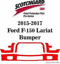 3M Scotchgard Paint Protection Film Pro Series 2015 2016 2017 Ford F-150 Lariat