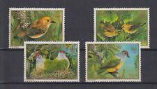 Cook Inseln  1278 - 81  Vögel - Birds  **  (mnh)