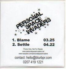 (140K) Personal Space Invaders, Blame - DJ CD