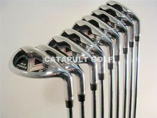 "NEW LEFT HANDED EXTRA LONG +3"" BIG TALL LH XL IRON SET XXL HAND GOLF CLUBS IRONS"