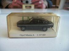 I.M.U. Opel Manta A in Black in box on 1:87