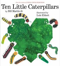 TEN LITTLE CATERPILLARS (Brand New Paperback Version) Bill Martin Jr