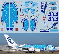 1/144 Airbus a380 ANA Airlines Lani JA 381a delivery Decals TB Decal tbd391