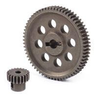 Motor Getriebe 21T Differential Hauptzahnra 64T 11119 11184 Für RC 1/10 HSP