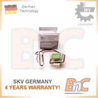 INTERIOR BLOWER RESISTOR RENAULT OEM 7701051433 SKV GERMANY GENUINE HEAVY DUTY