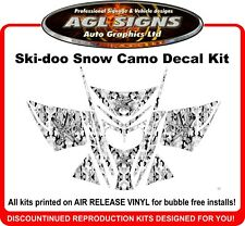 2003 - 07  Snow Camo Sled Wrap for Ski-doo  rev mxz renegade summit   Decals