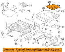 VW VOLKSWAGEN OEM 16-18 Passat Passenger Seat-Seat Cushion Htr 561963556G