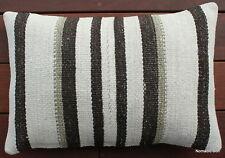 (40*60cm, 16*24inch) Boho handwoven kilim cushion cover hemp classic hampton
