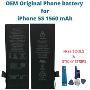 OEM Original Battery For iPhone 5S 1560 mAh Capacity Genuine Replacement Battery