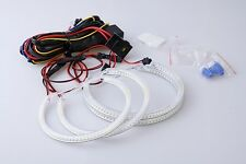 BMW E39 E46 3 5 Series Xenon White SMD LED Angel Eyes Halo Rings Kit