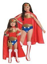 Justice League Wonder Woman Child Girls Superhero Fancy Dress Up Costume Medium