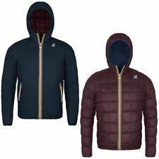KWAY Giubbino Jacques Thermo Plus Double K-way Giacca Reversibile Blue Red