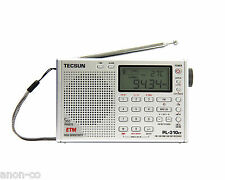 TECSUN PL-310ET (Silver Color) PLL DSP Multi Band Radio  << ENGLISH VERSION>>
