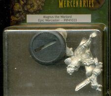 PRIVATEER PRESS WARMACHINE PIP 41033 MERCENARY MAGNUS THE WARLORD