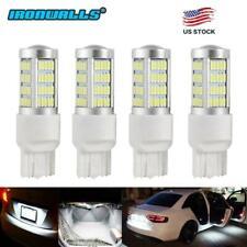 4x HID White 7443 7440 100W High Power LED Turn Signal Backup Reverse Light Bulb