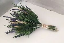 Beautiful Artificial Bridesmaid Bouquet Of Lavender County Wedding Flowers