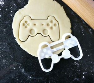 Game controller cookie cutter, Gaming cookies, Fondant cutter