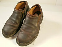 Carolina Mens Slip-on Casual Loafers Leather Brown Size 11.5 D