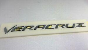 Rear Trunk VERACRUZ Lettering Logo Emblem for 2007 2012 Hyundai Veracruz ix55