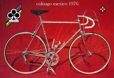 Colnago Mexico 1976 Trade A4 poster Campagnolo Super Record C Master