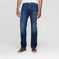 Men's Slim Straight Fit Jeans -Goodfellow & Co Medium Blue NEW W TAGS -SIZES