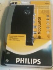 Phillips RF Modulator Video Converter great for retro vintage VCR,Game Console.