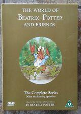 World of Beatrix Potter & Friends Complete Series DVD Boxset Carlton Region 2